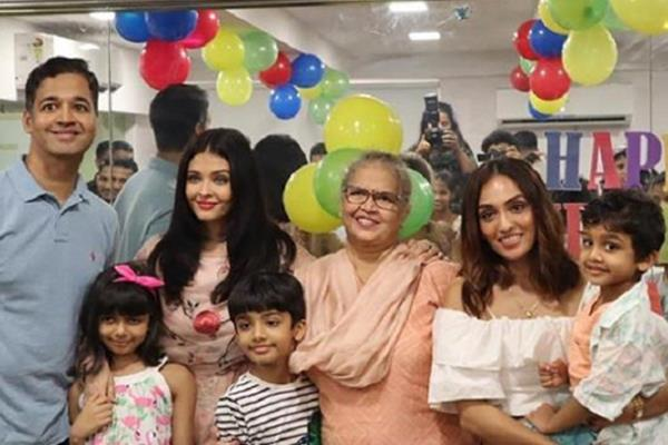 aishwarya rai bachchan attends nephew birthday bash with daughter aaradhya