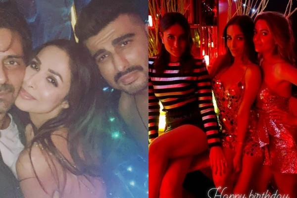 malaika arora celebrate her birthday with friends see inside pictures of party