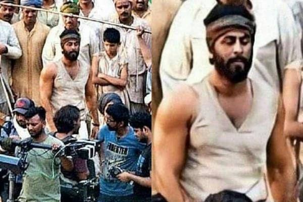 ranbir kapoor look leaked from upcoming film shamshera set