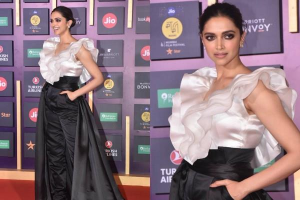 deepika padukone looks stylish she attends mami film festival