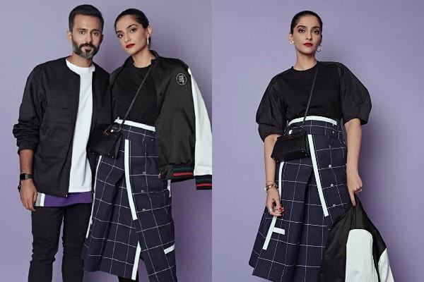 sonam kapoor ahuja photoshoot pictures with hubby anand ahuja