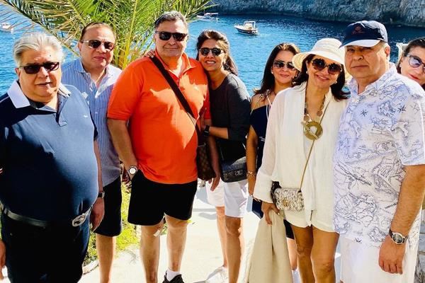after win the cancer battle rishi enjoy vacation with wife and friends in italy