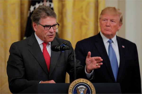 us energy secretary rick perry quits amid trump inquiry
