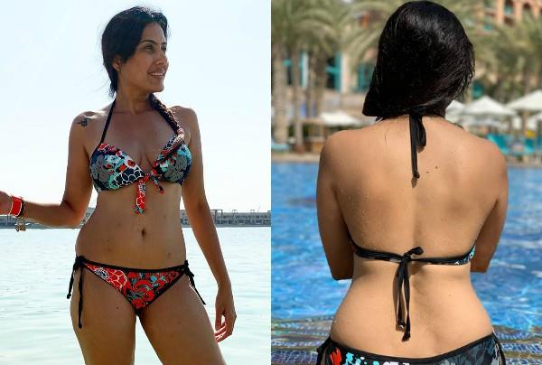 kamya punjabi flaunts her toned body in latest pictures