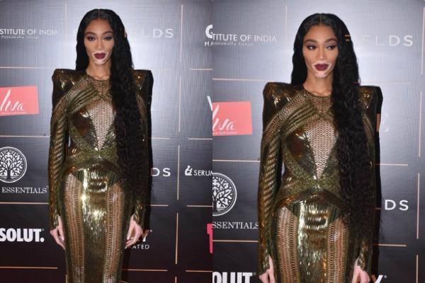 global star winnie harlow attends vogue women of the year