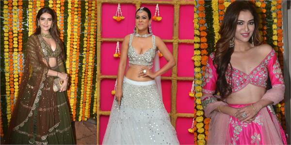 karishma tanna nia sharma ridhima pandit at ekta kapoor diwali bash