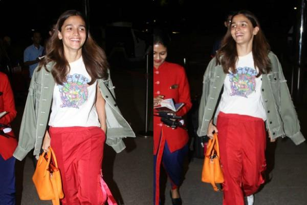 alia bhatt cool look at airport as she heads to london to join ranbir kapoor