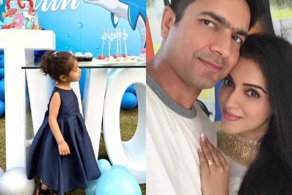 ghajini actress asin celebrate daughter arin second birthday