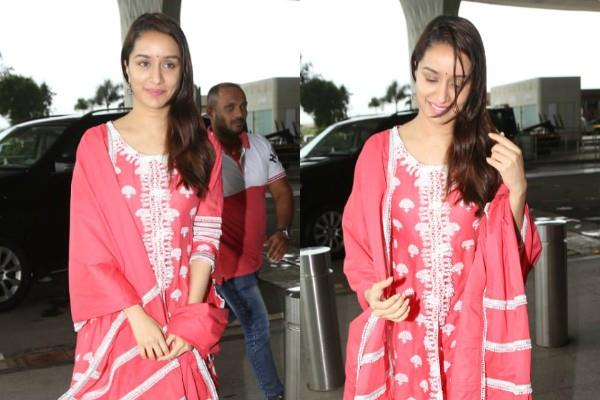 actress shradha kapoor spotted at airport