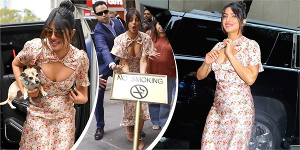 priyanka chopra neckline floral top and skirt price will shock you