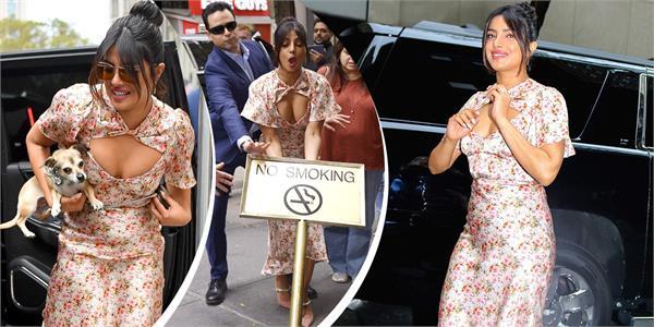 priyanka chopra neckline floral top and skirt price will shock you