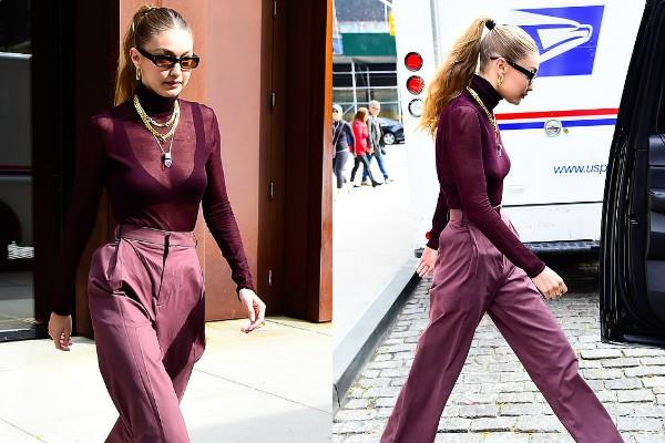 gigi hadid looks stylish at new york city