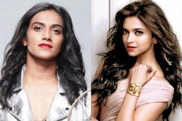 deepika padukone and pv sindhu shared a video on bharat ki laxmi