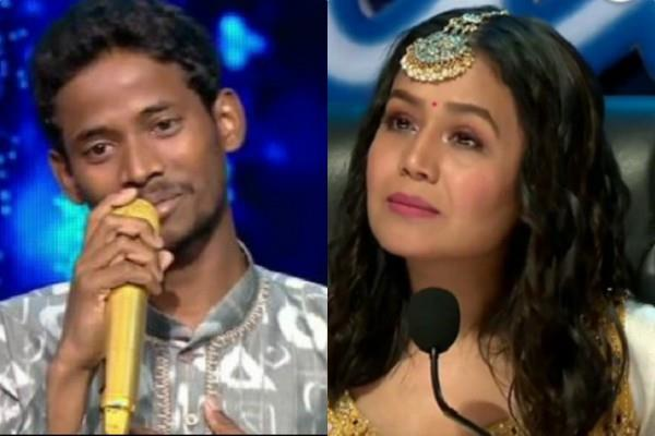 neha kakkar gifts rs 1 lakh to a contestant for diwali celebration