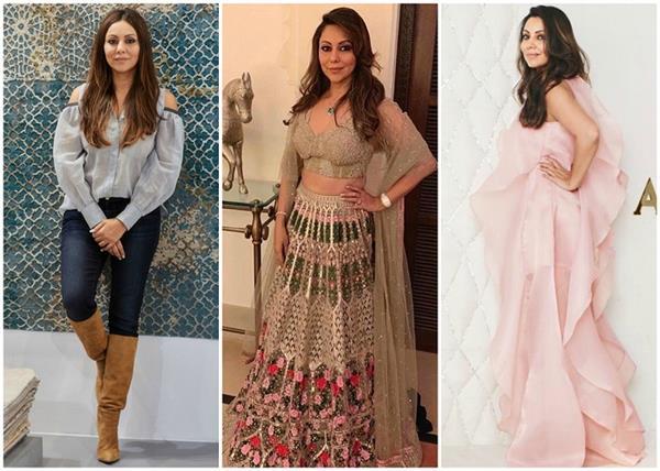 gauri khan best outfits of married women