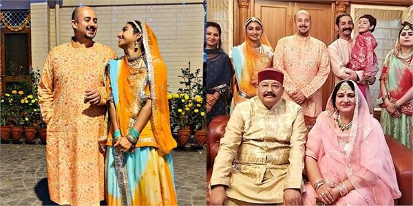 actress mohena kumari singh celebrates first diwali after marriage