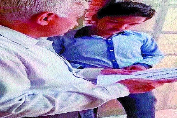 video of distribution of voter slip from students goes viral notice to blo