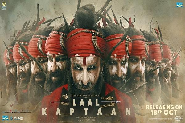 laal kaptaan new poster released