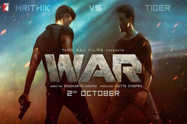 hrithik and tiger starer film war review