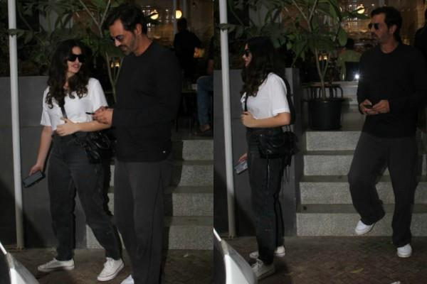 arjun rampal outing with girlfriend gabriella demetriades