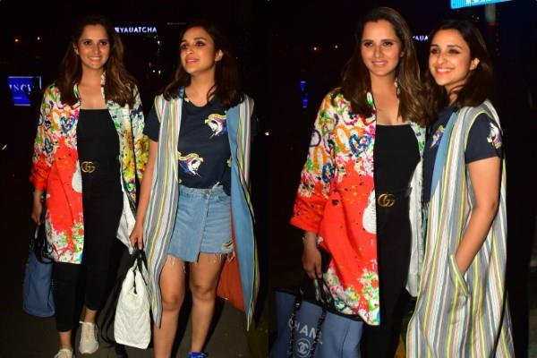 parineeti chopra dinner date with tennis player sania mirza