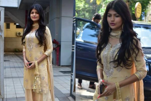 varun dhawan niece anjini dhawan latest pictures