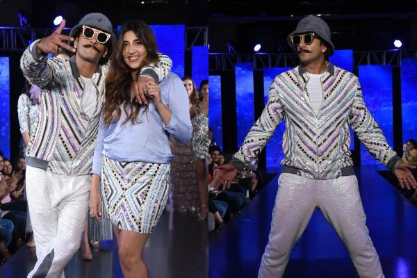 star ranveer singh looked on ramp walk with school friend simone