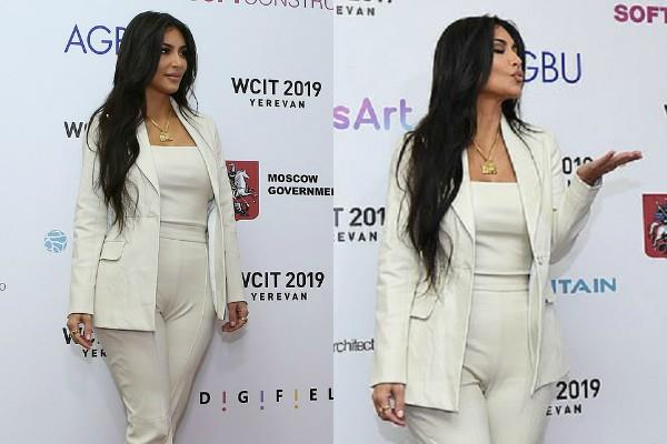 kim kardashian looks stunning in her latest pictures
