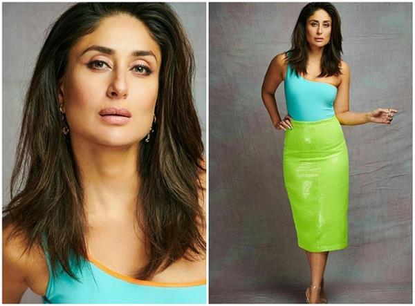 kareena stunning spot in neon avatar karthik also gave compliment