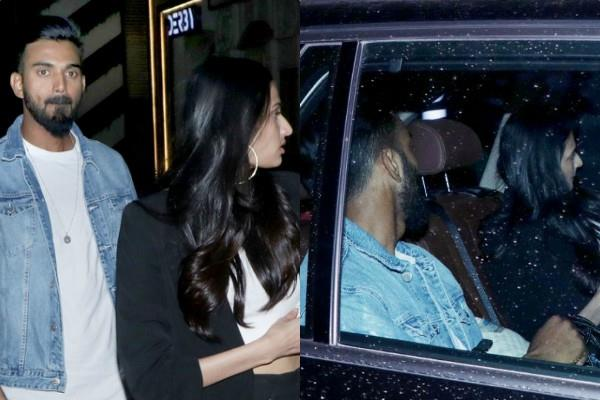 athiya shetty dinner date with cricketer kl rahul