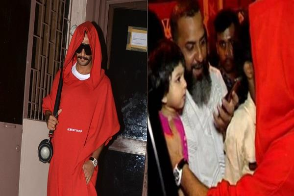 ranveer trolled again child also cried after seeing his look