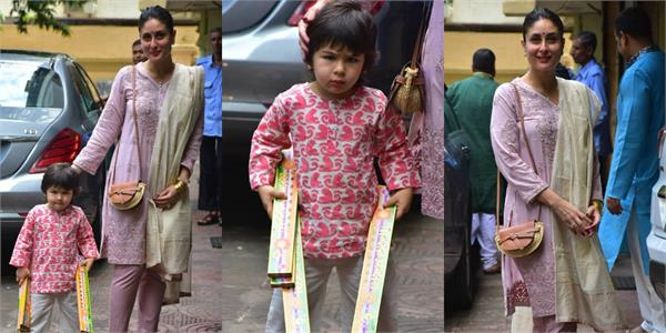 taimur ali khan sets the festive right mood with these pictures