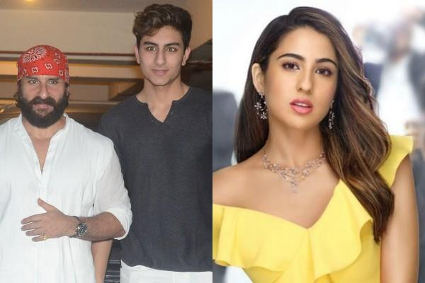 ibrahim ali khan talks about his relationship with dad saif and sister sara