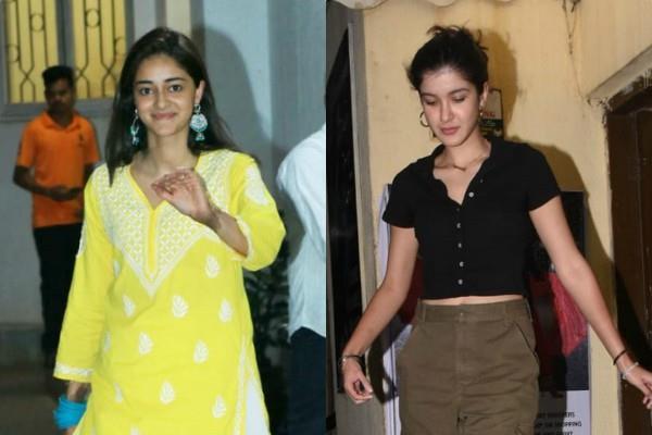 ananya pandey movie date with best friend shanaya kapoor