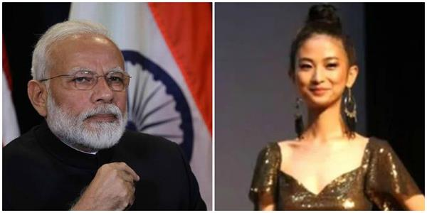 question related to pm modi asked in beauty contest
