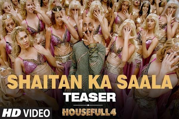 new song of akshay starer  housefull 4  will be released tomorrow