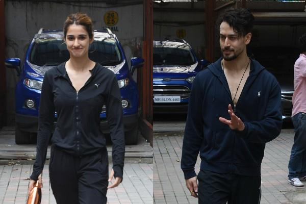 disha patani outing with boyfriend tiger shroff