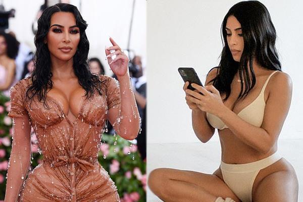 kim kardashian flaunts impressive figure in latest photos