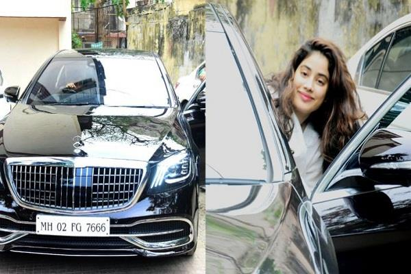 jahnavi kapoor new expensive car has a special connection with sri devi