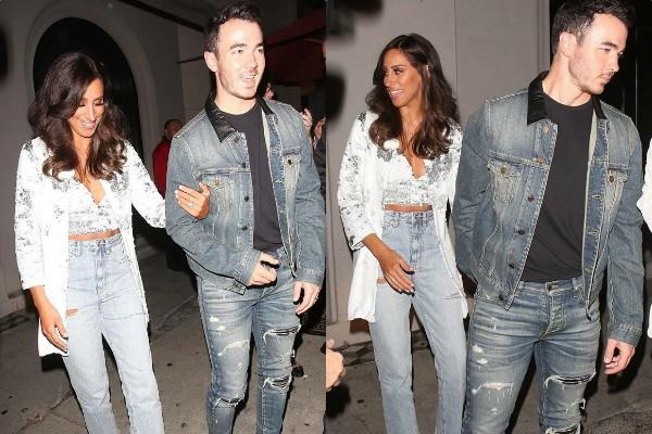 kevin jonas dinner date with wife danielle jonas