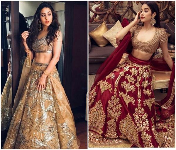 sara janhvi s traditional dress whose look do you like