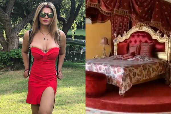 rakhi sawant share video of husband ritesh house