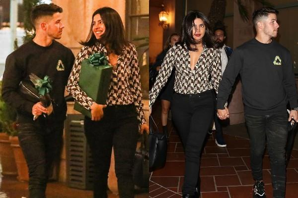 priyanka chopra looks stunning as she spotted with hubby