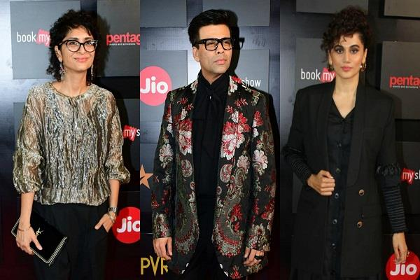 bollywood stars appeared in this style at the mami film festival