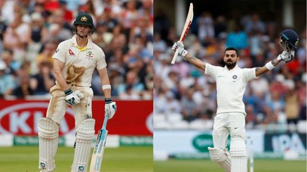 icc test ranking captain kohli great leap close to snatching smith crown
