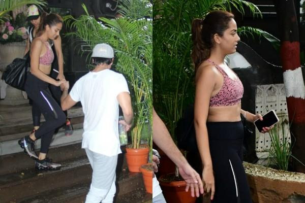 shahid kapoor mira rajput gave major couple goals after her workout session