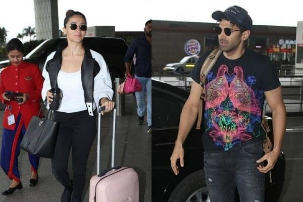 alia bhatt aditya roy kapur head mysore for sadak 2 shooting