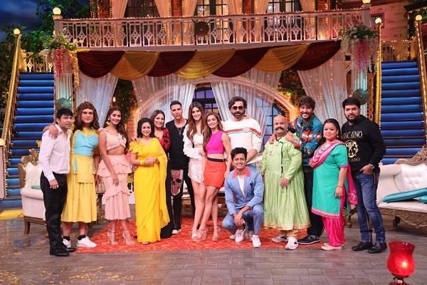'द कपिल शर्मा शो' में 'हॉउसफुल 4' की मस्ती, पहली बार कपिल ने किया ये काम