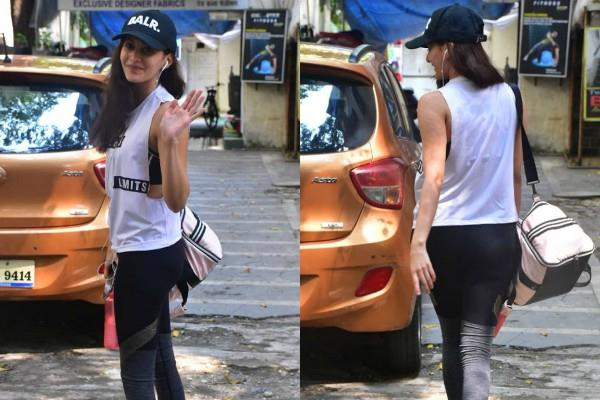 amyra dastur spotted outside the dance class