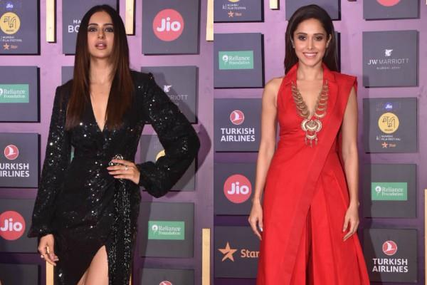 rakul preet and nushrat bharucha looked stunning at jio mami film festival